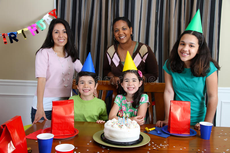 Download Birthday Party stock photo. Image of lifestyle, celebration - 24237640
