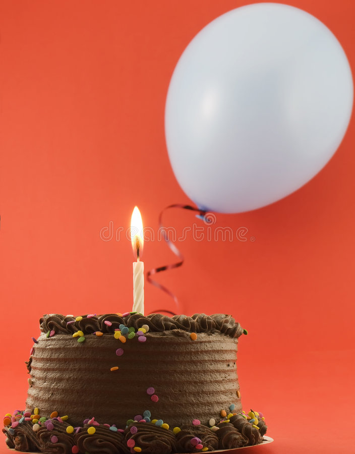 Download Birthday Party stock image. Image of chocolate, candle - 4041275