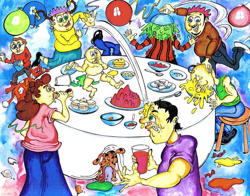 Birthday Party vector illustration