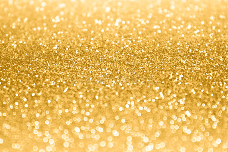 Gold Glitter Sparkle Confetti Background royalty free stock photo