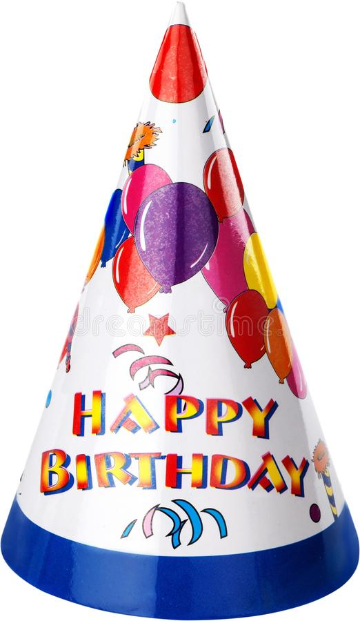 Birthday party hat. Party hat birthday hat birthday party party celebration party favors birthday stock photography