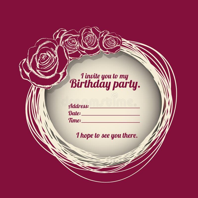 Birthday party invitation stock vector illustration of bloom download birthday party invitation stock vector illustration of bloom 31450678 stopboris Images