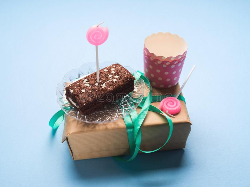 Birthday party symbol concept still life stock images