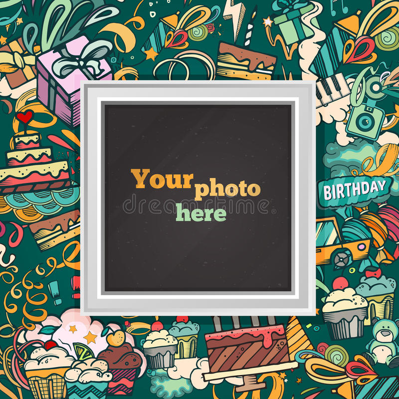 Birthday photo frame stock vector illustration of drawing 77493153 download birthday photo frame stock vector illustration of drawing 77493153 bookmarktalkfo Choice Image