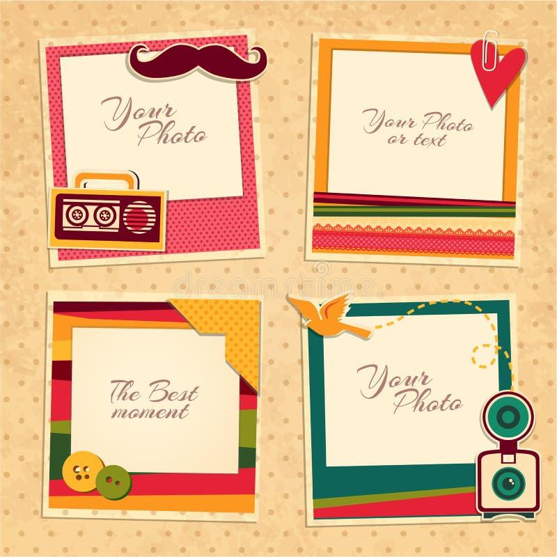 Birthday photo frame stock vector. Illustration of album - 63022789