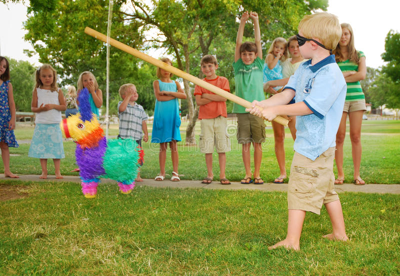 Birthday Pinata royalty free stock photos