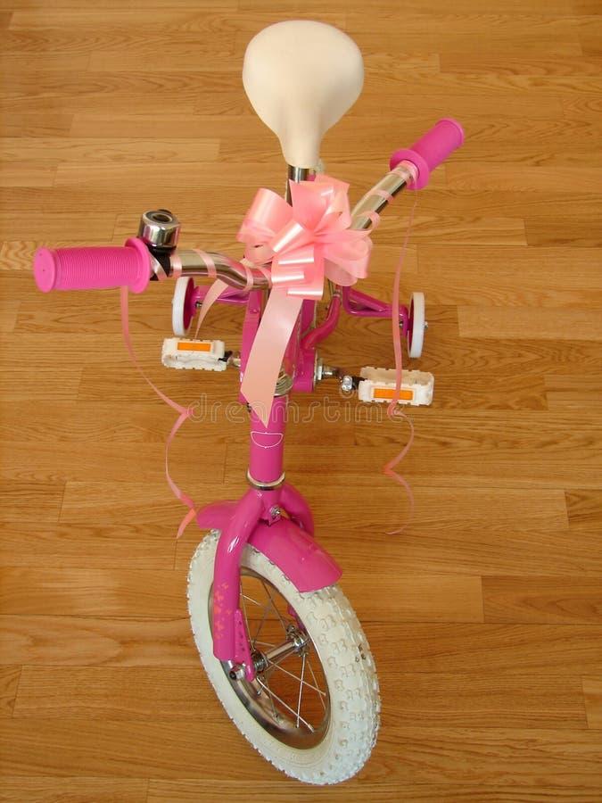 Birthday present. Bike the birthday present stock photo