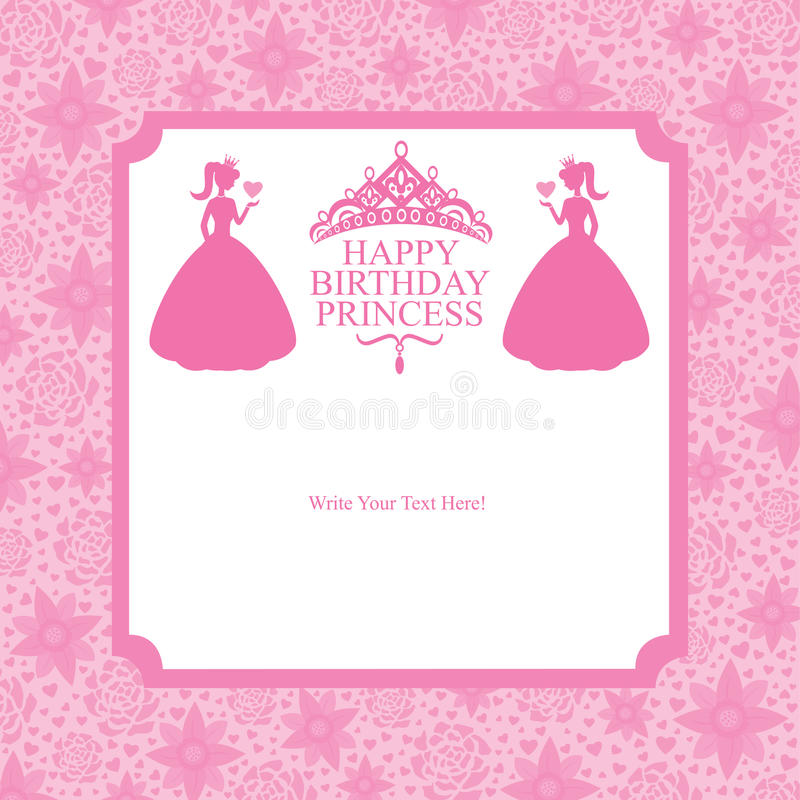 Birthday princess card design stock vector illustration 42455341 download birthday princess card design stock vector illustration 42455341 stopboris Image collections