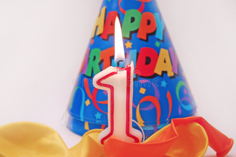 Birthday scene 4 royalty free stock image