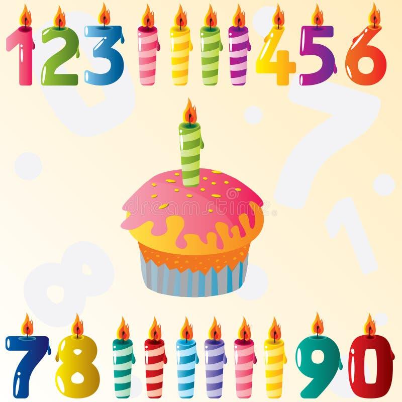 Download Birthday set stock vector. Illustration of decorating - 15154586