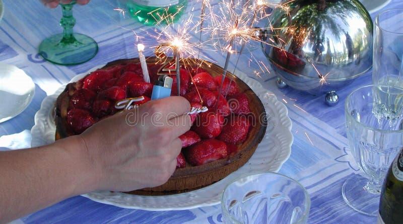 Birthdaycake Stock Photography