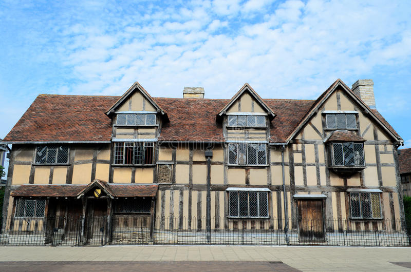 Birthplace of Shakespeare stock images
