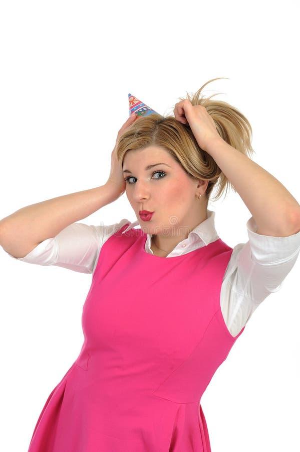 Download Birthsday Fira Nätt Kvinnligdeltagare Arkivfoto - Bild av flicka, härlig: 19790656
