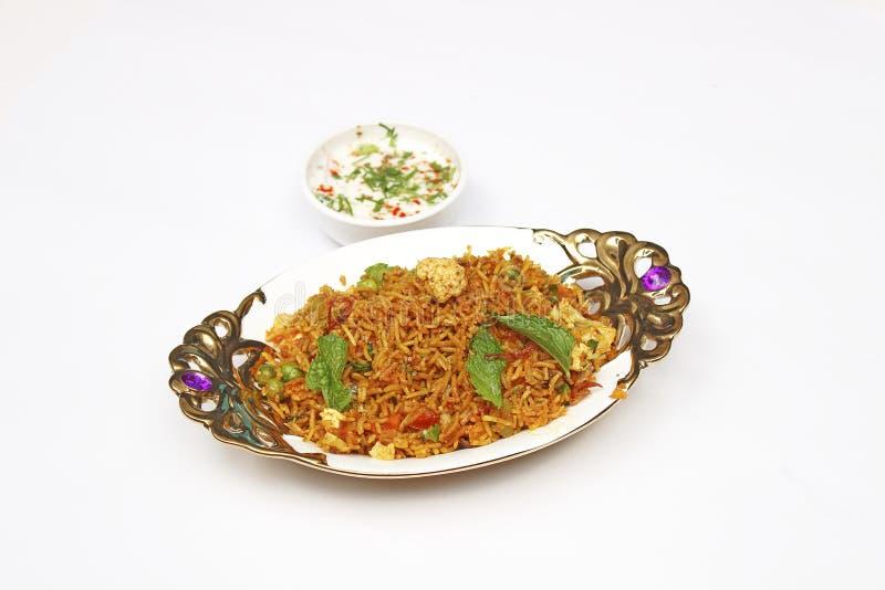 Biryani - indianin zdjęcie stock