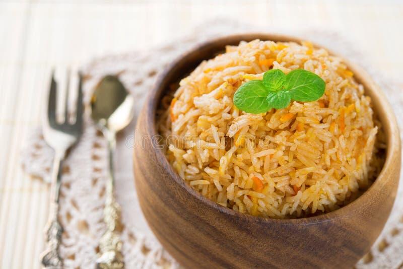 Biryani rice, basmati royalty free stock image