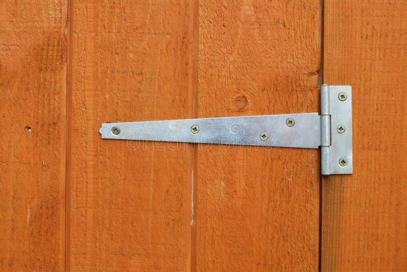 Bisagra de puerta de la vertiente fotografía de archivo