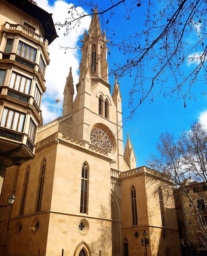 Bisbat de Мальорка, римско-католическая епархия Майорки, собор St Mary в Palma Майорке стоковые фото