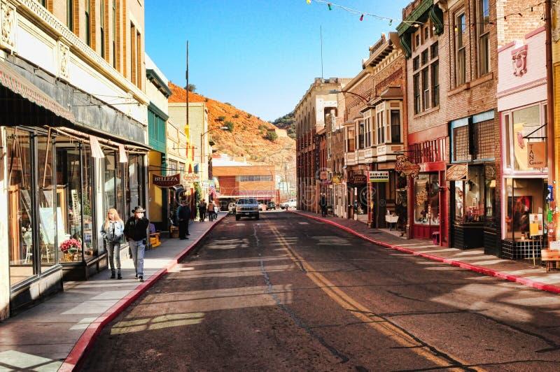 Bisbee Arizona lizenzfreie stockfotos