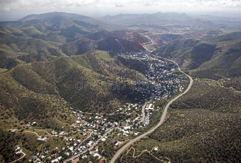 Bisbee, Arizona fotografie stock libere da diritti