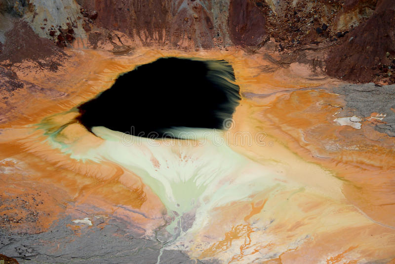 Bisbee, Arizona kopalni miedzi staw obrazy royalty free