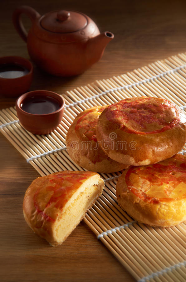 Biscoito asiático do feijão foto de stock royalty free