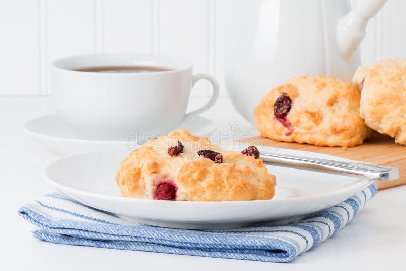 Biscoito de chá do arando imagem de stock royalty free