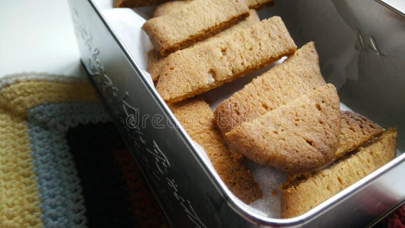 Biscoitos caseiros imagens de stock royalty free