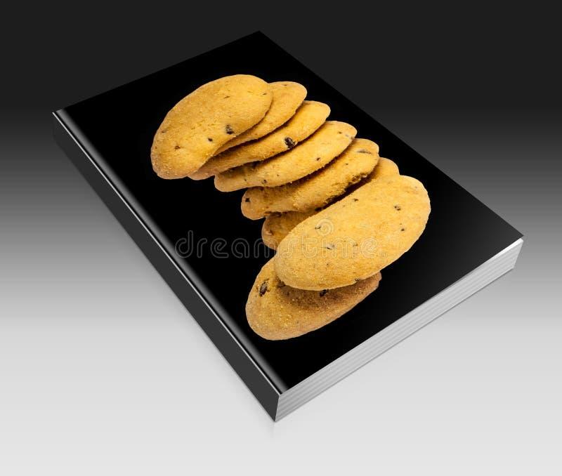 Biscoitos com gotas de chocolate imagens de stock