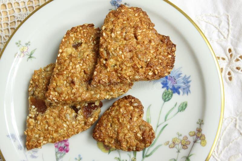 Biscoitos da aveia fotos de stock