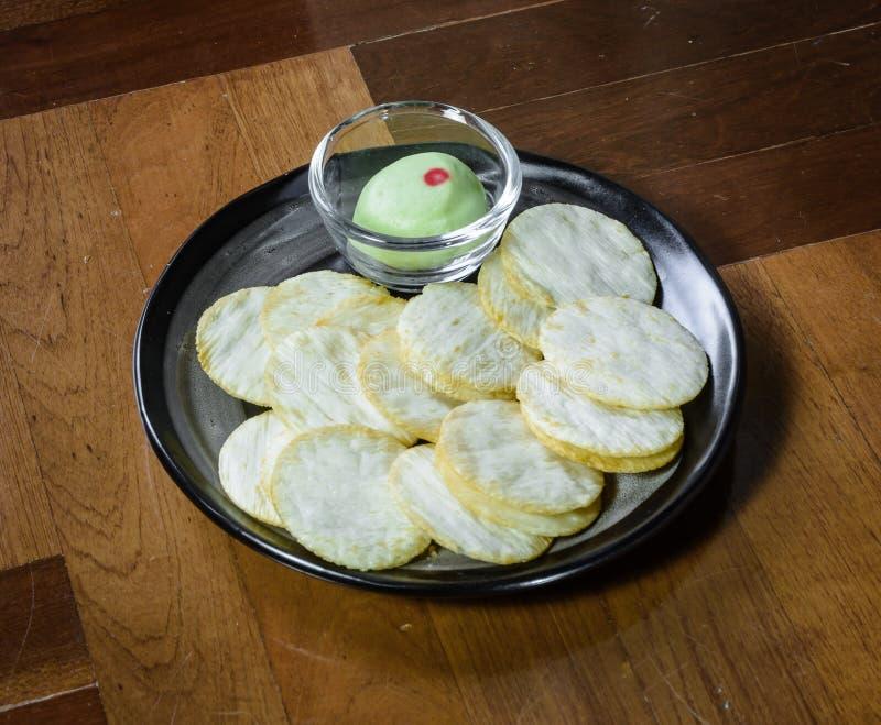 Biscoitos da batata imagens de stock