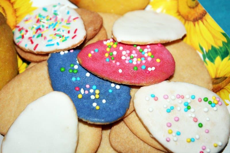 Biscoitos da Páscoa fotos de stock royalty free