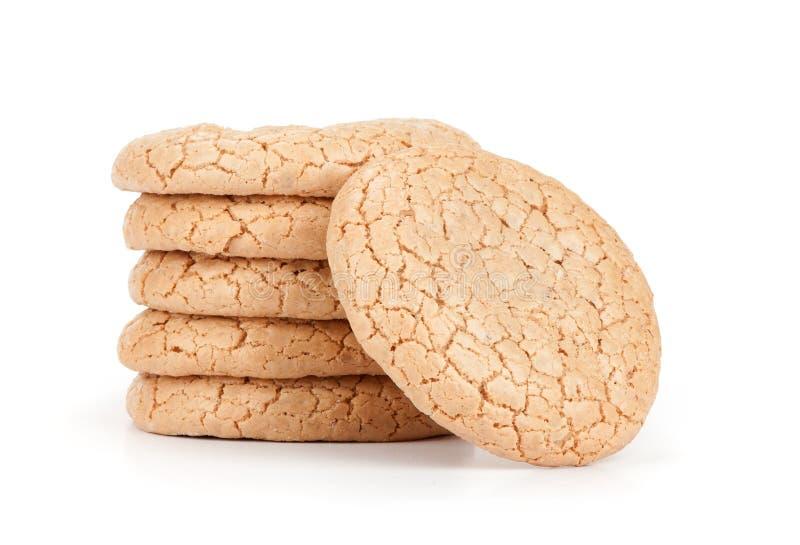 Biscoitos de amêndoa imagens de stock royalty free