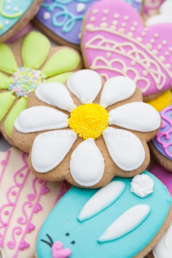 Biscoitos de Easter fotografia de stock royalty free