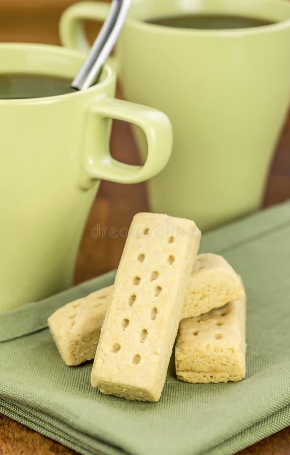 Biscoitos de Shortbread foto de stock royalty free