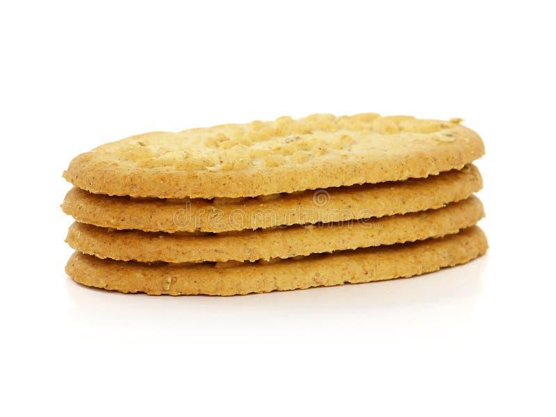 Biscoitos do cereal fotos de stock royalty free