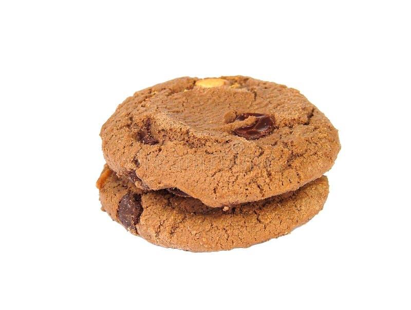 Biscoitos do chocolate imagem de stock royalty free
