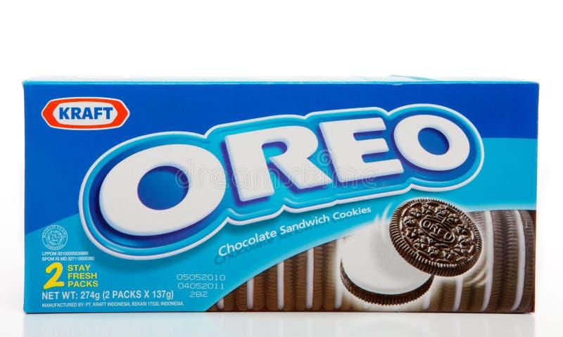 Biscoitos do chocolate de Oreo