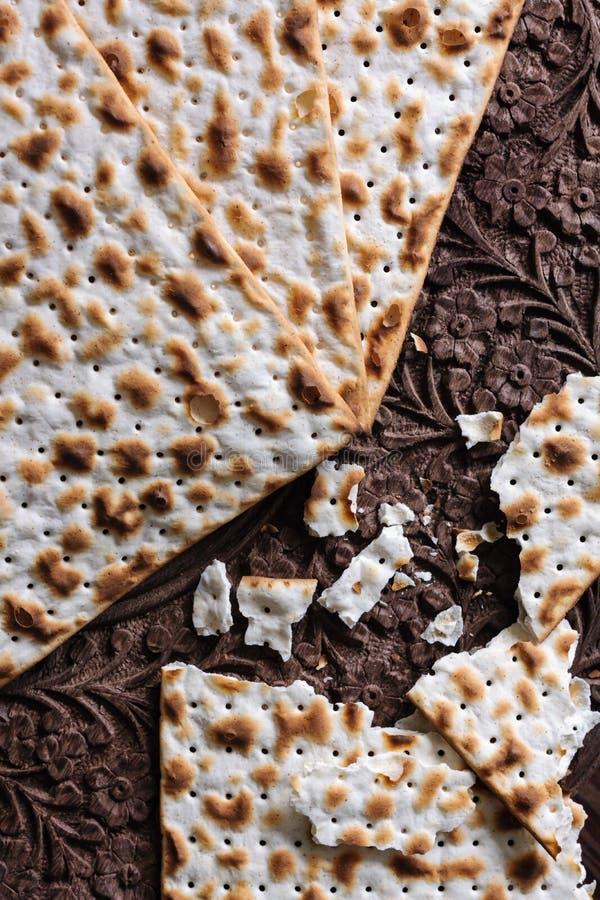 Biscoitos do Matzah imagens de stock