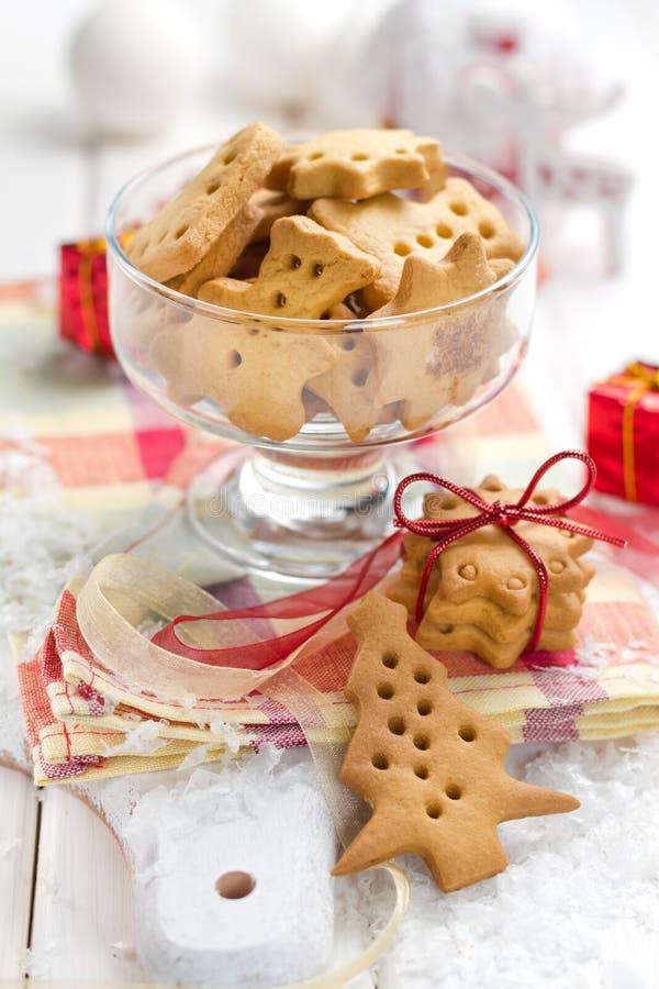 Biscoitos do Natal fotos de stock royalty free
