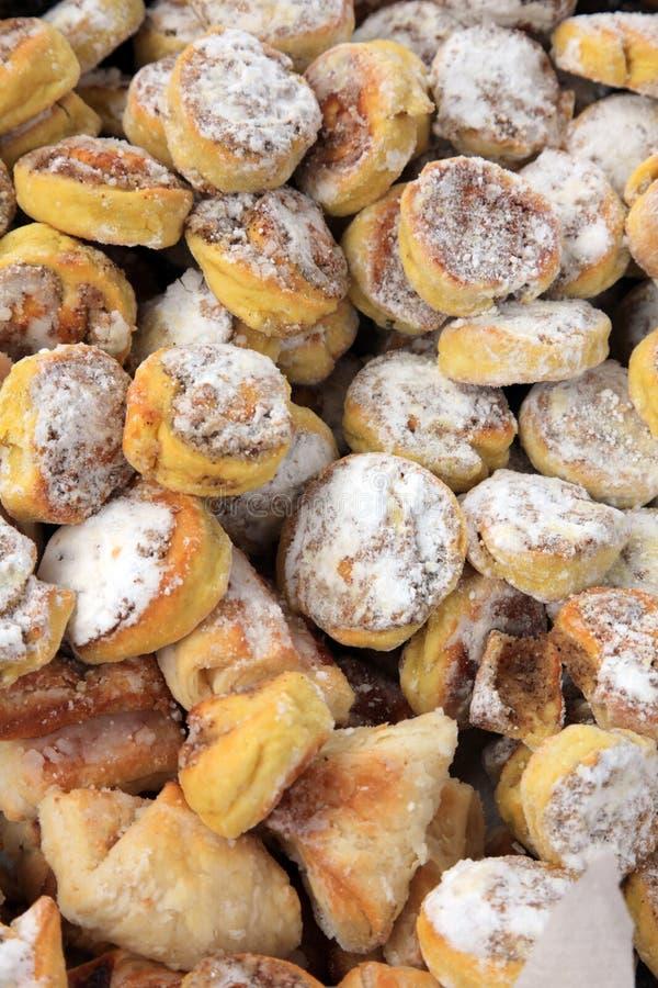 Biscoitos do Natal foto de stock royalty free
