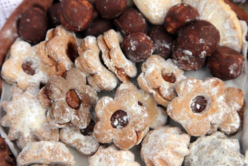 Biscoitos do Natal fotografia de stock royalty free