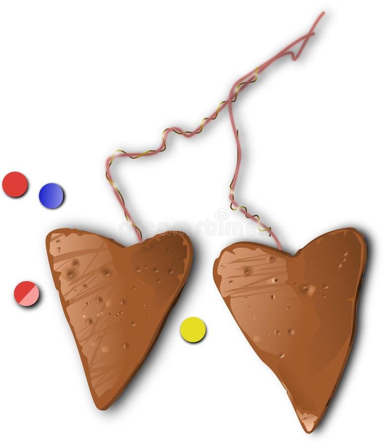 Biscoitos do Natal e do ano novo fotos de stock royalty free