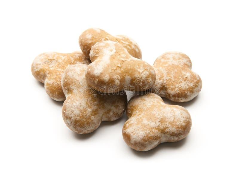 Biscoitos do pão-de-espécie imagem de stock