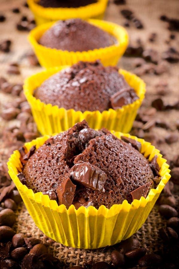 Biscoitos escuros imagens de stock royalty free