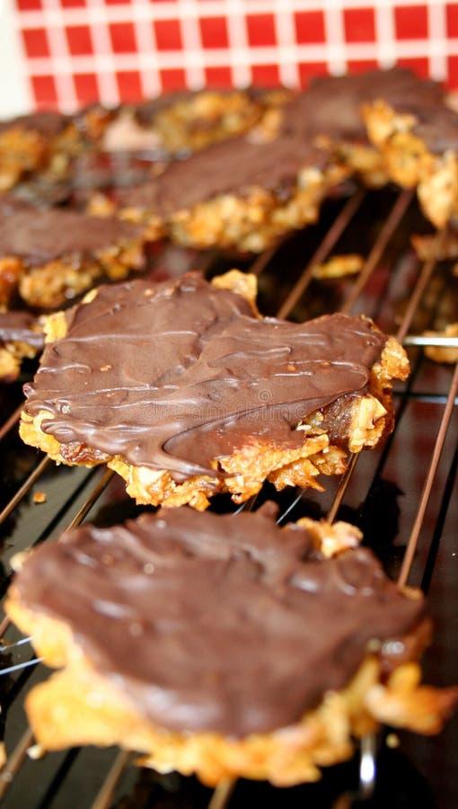 Biscoitos Florentine foto de stock
