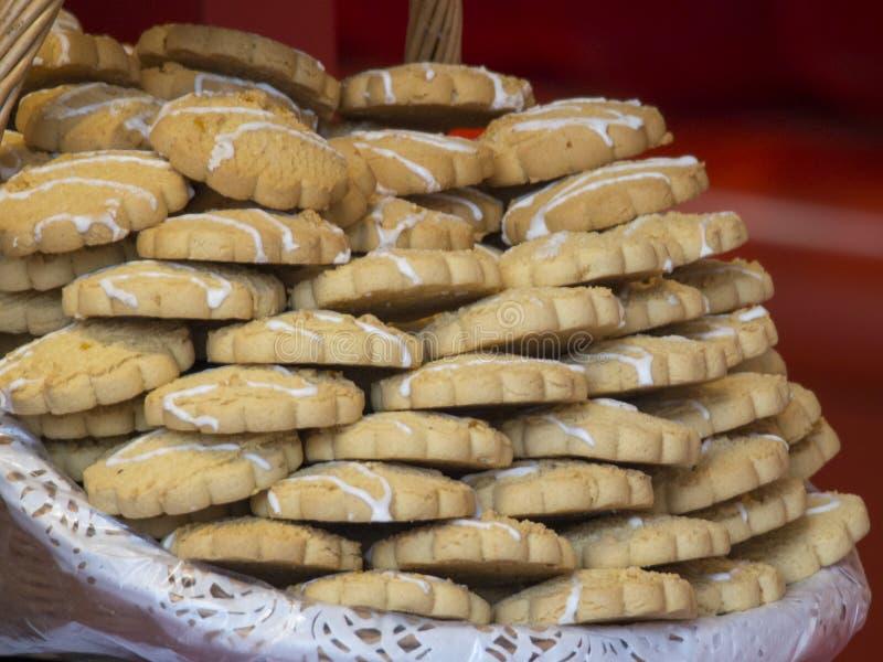Biscoitos franceses foto de stock royalty free
