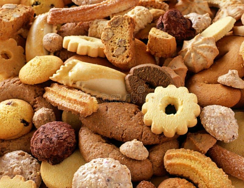 Biscoitos frescos Crunchy fotos de stock royalty free