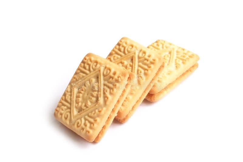 Biscoitos ingleses do tempo do chá foto de stock royalty free