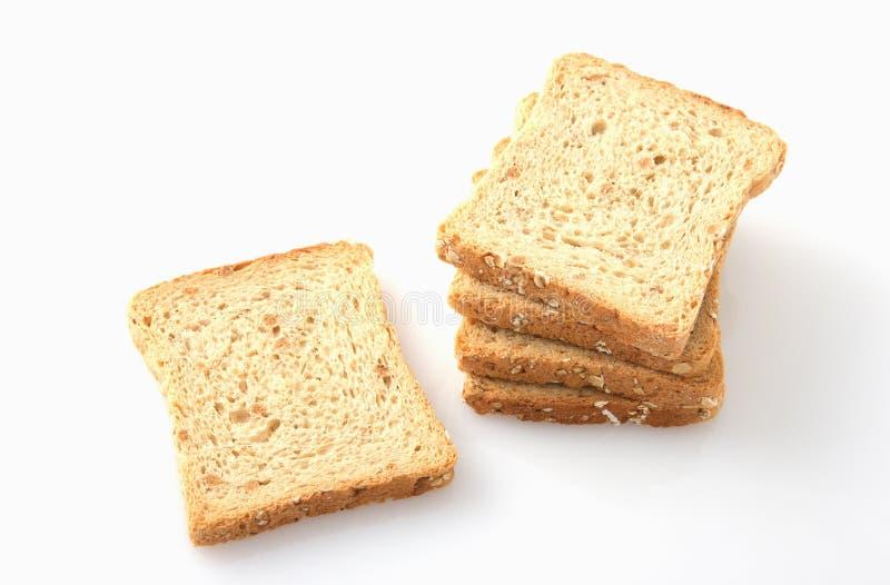 Biscoitos inteiros do trigo imagens de stock