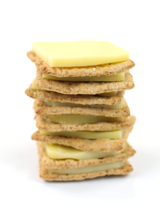 Biscoitos Savory imagem de stock